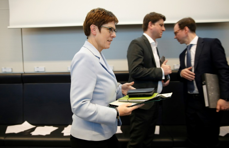 CDU-Zentrale bereit zu Sonderparteitag für Vorsitzendenwahl (© 2020 AFP)