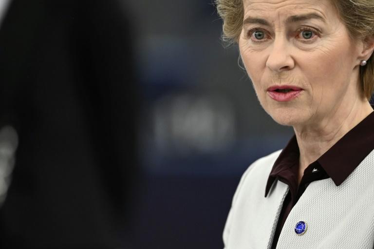 Untersuchungsausschuss zur Berateraffäre befragt von der Leyen (© 2020 AFP)