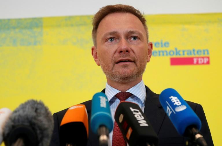 Lindner entschuldigt sich im Bundestag für Thüringen-Debakel (© 2020 AFP)