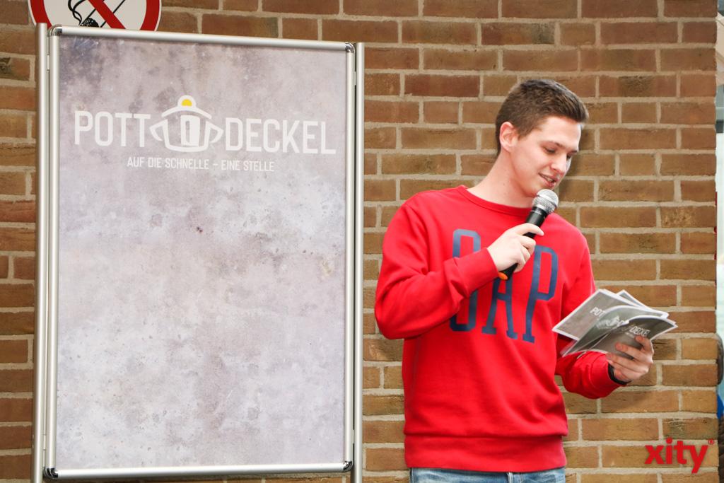 Nachwuchsmoderator und -comedian Niklas Siepen moderierte die Veranstaltung (Foto: xity)