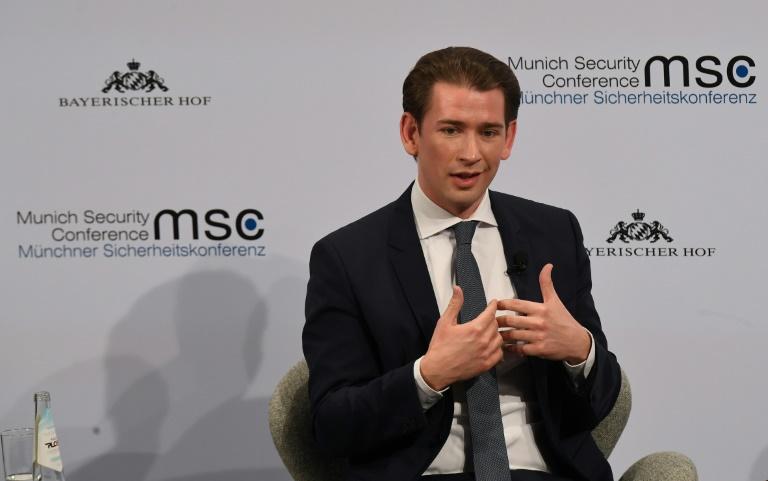 Österreichs Kanzler stellt sich hinter CDU-Beschluss zu Abgrenzung von AfD (© 2020 AFP)