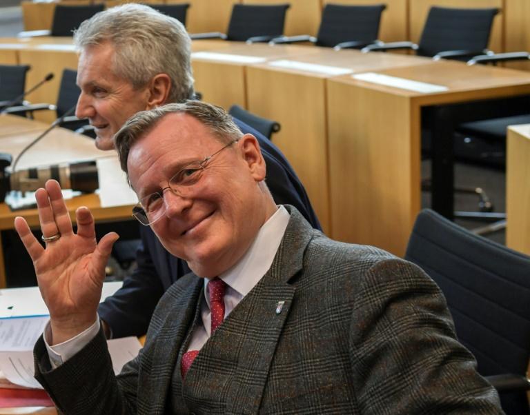 Ramelow schlägt Lieberknecht als Übergangsregierungschefin in Thüringen vor (© 2020 AFP)