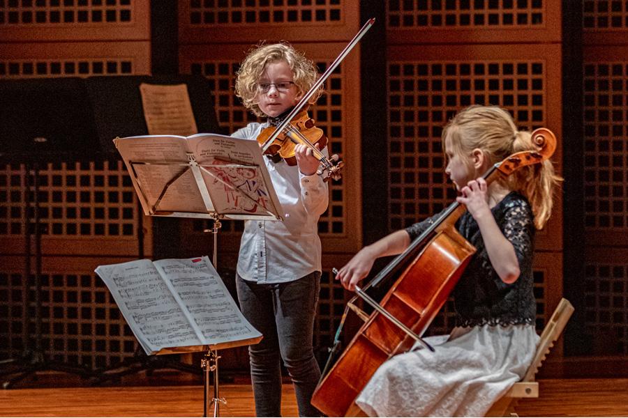 Junge Talente musizierten beim Preisträgerkonzert