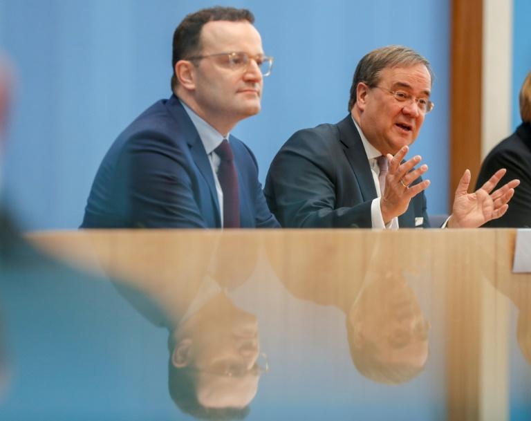 Laschet kandidiert mit Spahns Unterstützung für CDU-Vorsitz