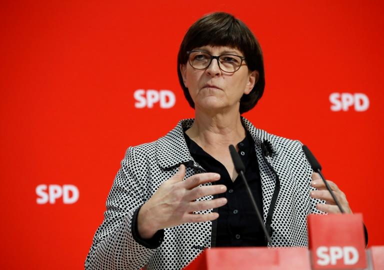 Esken findet Zustand des Koalitionspartners CDU beunruhigend