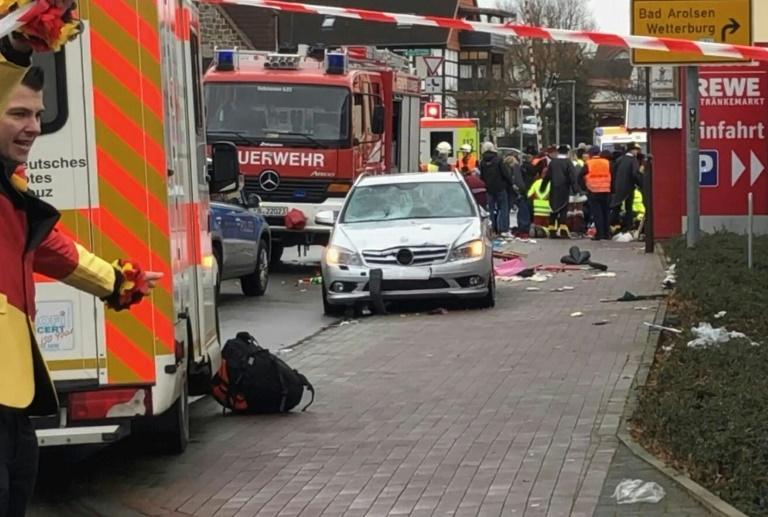 Beweggründe für Autoattacke in Volkmarsen weiterhin unklar