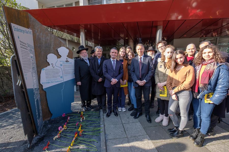 Projekt der Mahn- und Gedenkstätte eingeweiht