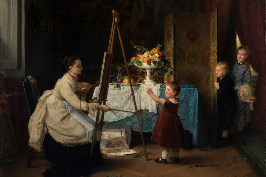 Ausstellung zu Werken von August Friedrich Siegert