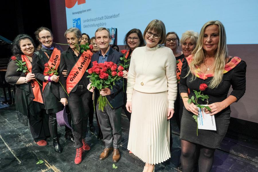 Internationaler Frauentag: Matinee im Düsseldorfer Schauspielhaus (Foto: Stadt Düsseldorf/Michael Gstettenbauer)