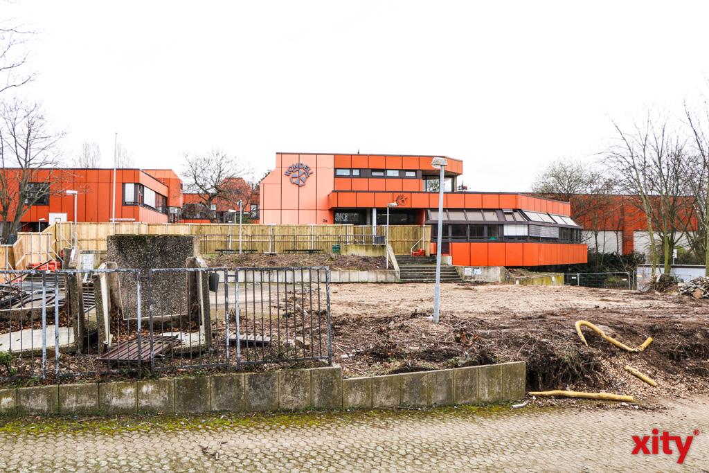 Die Carl-Benz-Realschule in Oberkassel erhält einen Erweiterungsbau (Foto: xity)