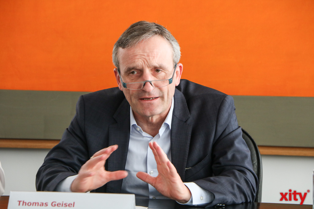 Düsseldorfs Oberbürgermeister Thomas Geisel informierte über die aktuellen Maßnahmen (Foto: xity)