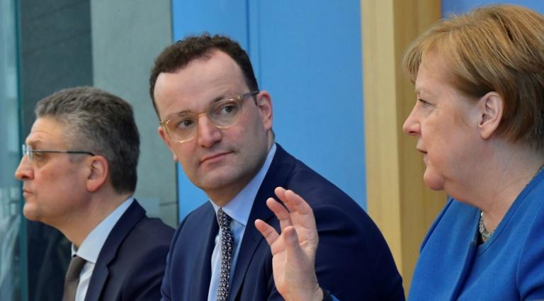Gesundheitsminister Spahn sagt wegen Coronagefahr seine Geburtstagsfeier ab (© 2020 AFP)