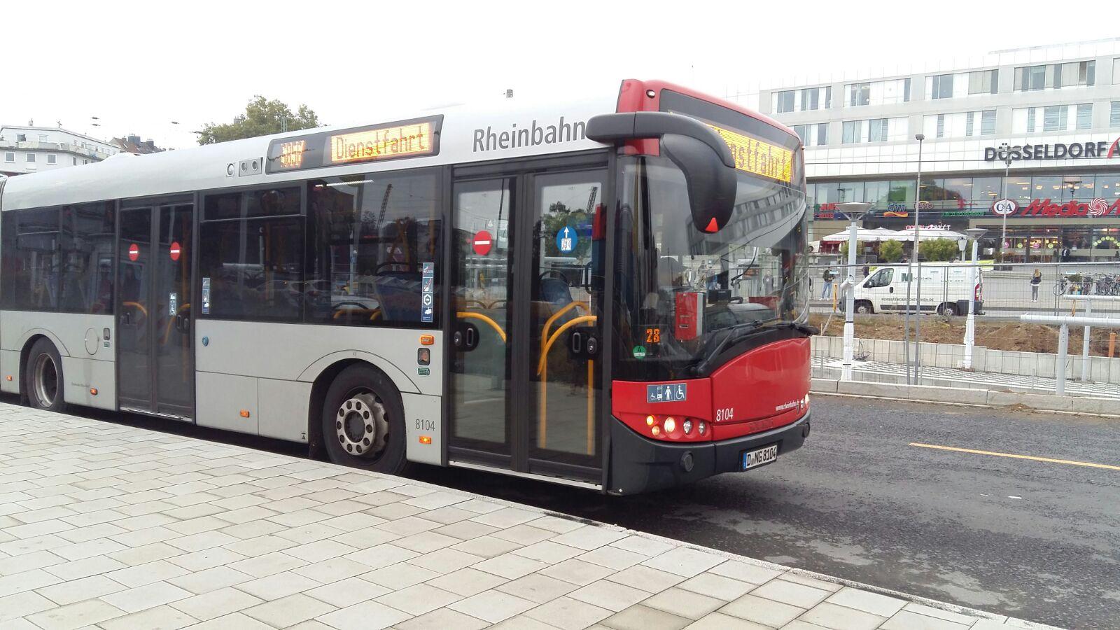 Wegen Notstandsarbeiten nach einem Wasserrohrbruch kann die Buslinie 833 nicht wie gewohnt fahren. (Foto: xity)
