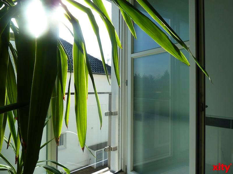 """Mit dem Förderprogramm """"Klimafreundliches Wohnen und Arbeiten"""" bezuschusst die Stadt Düsseldorf energiesparende Umbauten in Haus und Wohnung. (Foto: xity)"""