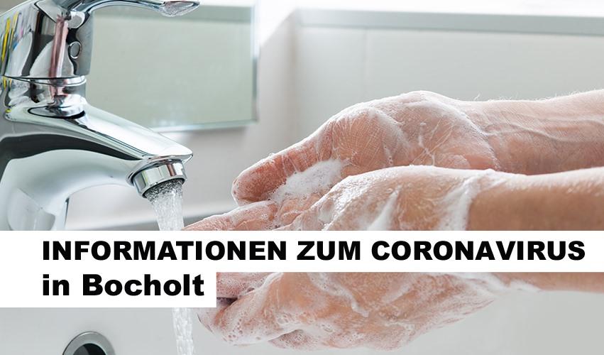 Coronavirus Stadt Bocholt informiert (Quelle: Stadt Bocholt)