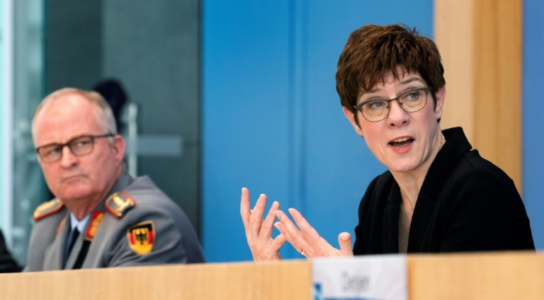 Bundeswehr will in Corona-Krise auch Reservisten mobilisieren (© 2020 AFP)