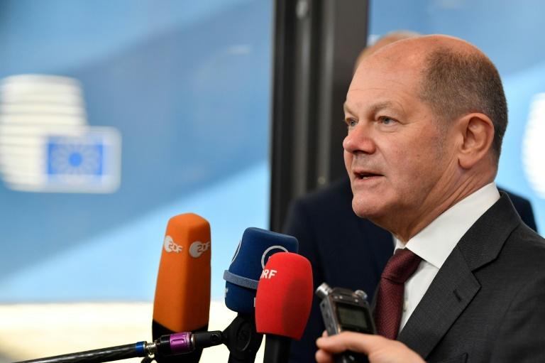 Vizekanzler Scholz gegen Ausgangssperre in Corona-Krise (© 2020 AFP)