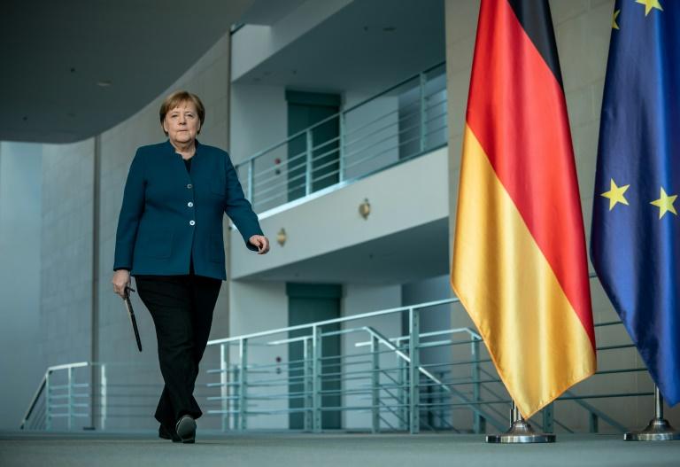 Kanzlerin Merkel vorsichtshalber in häuslicher Quarantäne (© 2020 AFP)