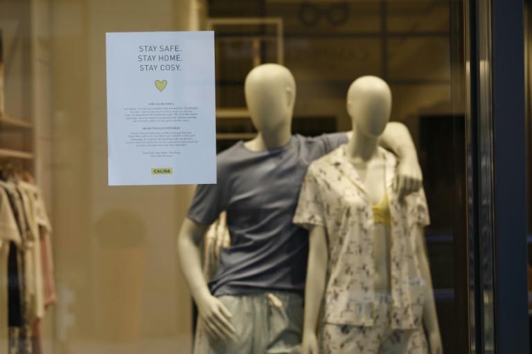Textilindustrie: Unsere Lieferketten sind zusammengebrochen (© 2020 AFP)