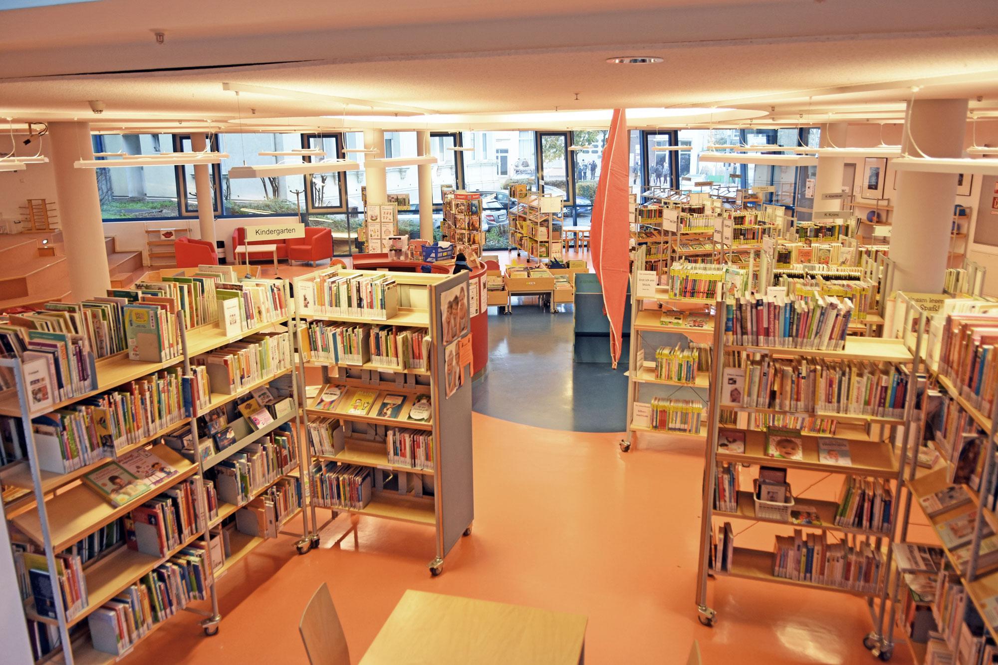 Bibliothek der Kreisstadt Unna. (Foto: Stadt Unna)