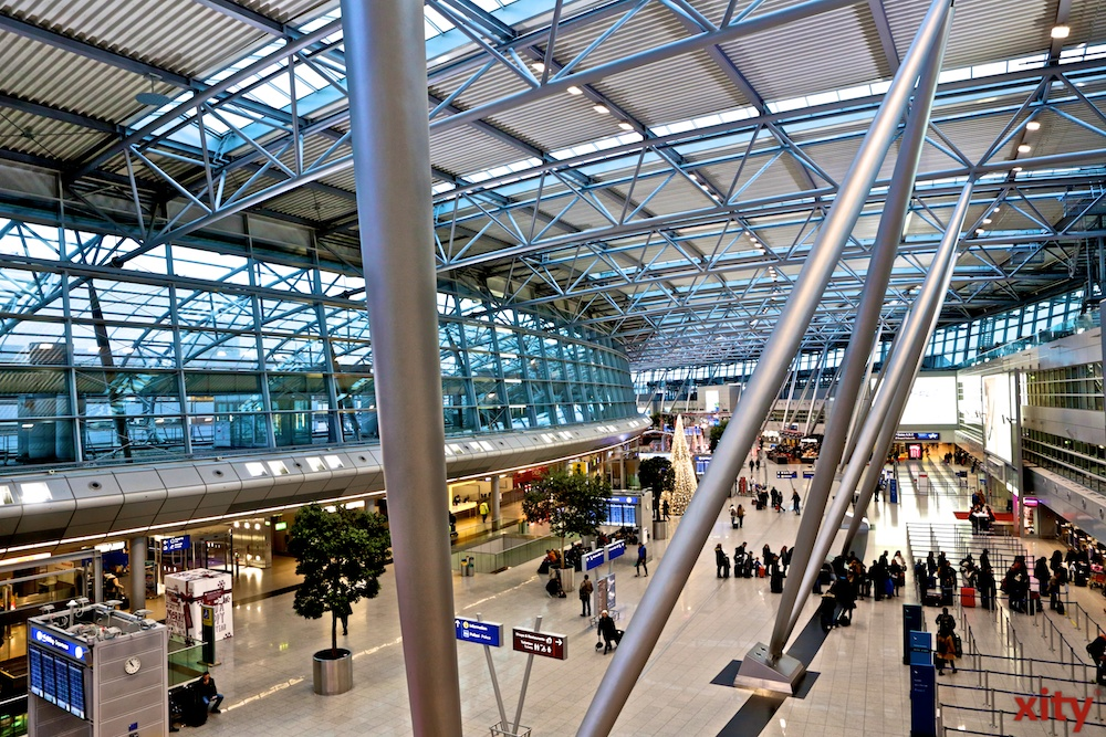 Corona-Pandemie: Gähnende Leere am Düsseldorf Airport (Foto: xity)