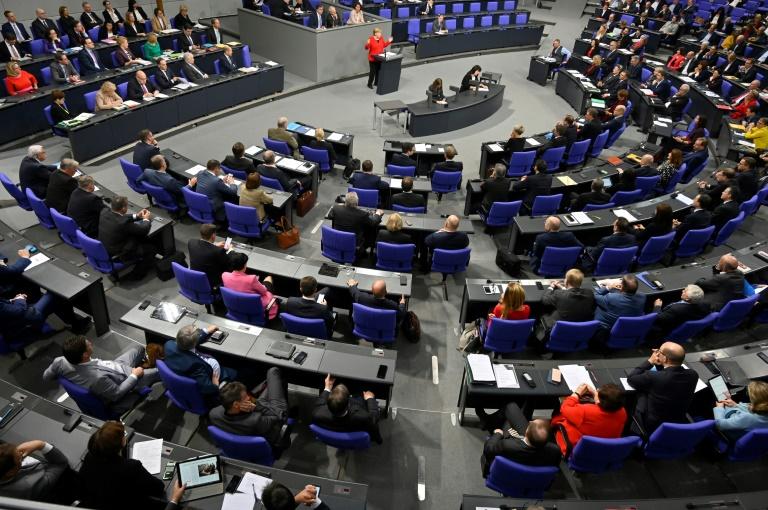 Chef der Unionsfraktion dankt Opposition für Mitarbeit in Corona-Krise (© 2020 AFP)