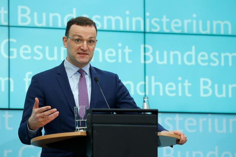 Spahn kündigt Konzepte zu Ausstieg aus Krisen-Maßnahmen an (Foto: AFP)