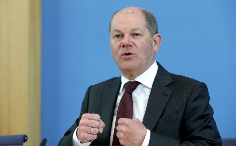 Scholz: Staatsbeteiligungen an Unternehmen sollen nicht dauerhaft sein (© 2020 AFP)