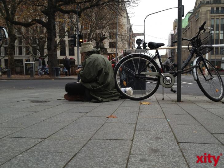 Zusätzliche Anlaufstellen und Hilfen für Wohnungslose in Düsseldorf (Foto: xity)