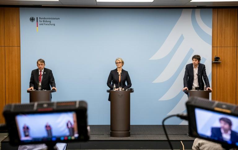 """Karliczek zurückhaltend zu Debatte über """"Exit-Strategie"""" bei Corona-Maßnahmen (© 2020 AFP)"""
