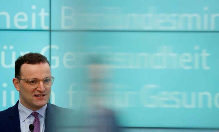 """Spahn: """"Noch ist das die Ruhe vor dem Sturm"""" (© 2020 AFP)"""