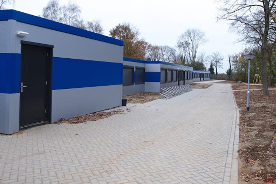 Ehemaliges Flüchtlingsunterkunft wird zur Quarantänestation (Foto: xity)