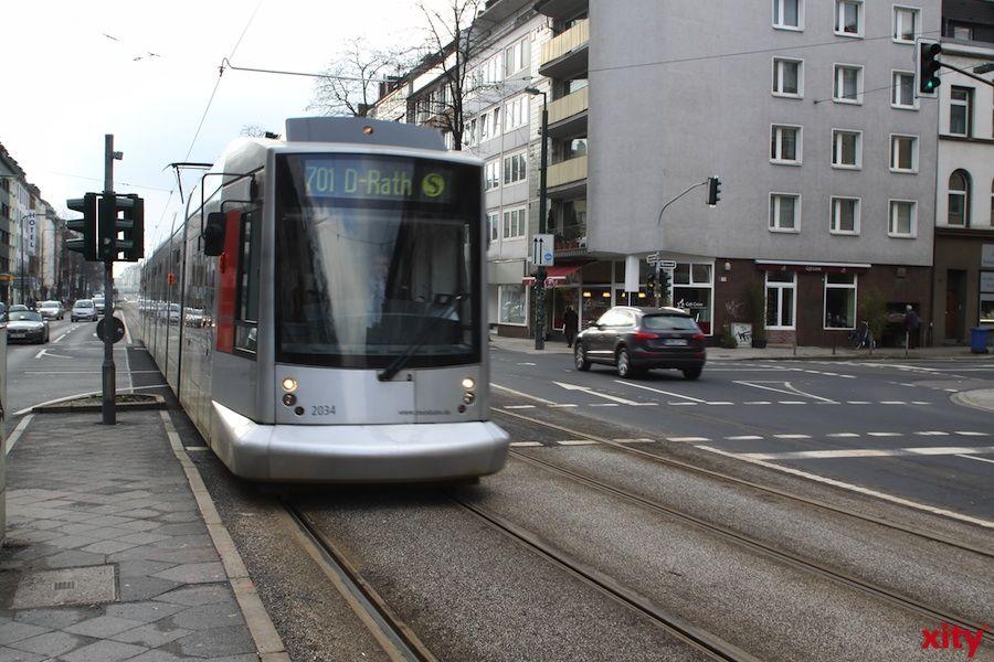 Rheinbahn Düsseldorf erhält Betrieb in der Corona-Pandemie aufrecht (Foto: xity)