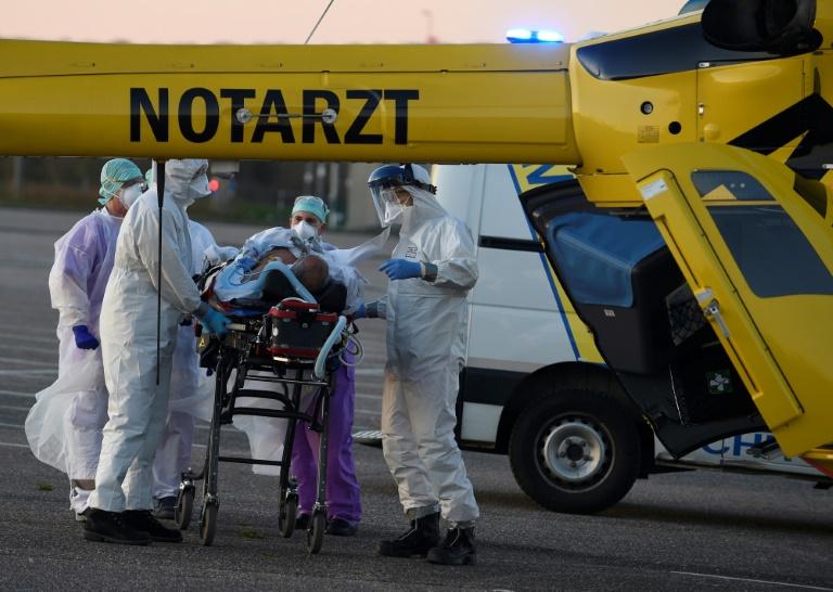 Corona-Patienten aus Metz nach Deutschland ausgeflogen