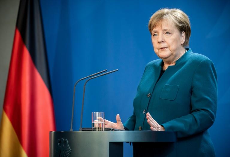 Merkel dankt Bürgern für Disziplin in Coronakrise