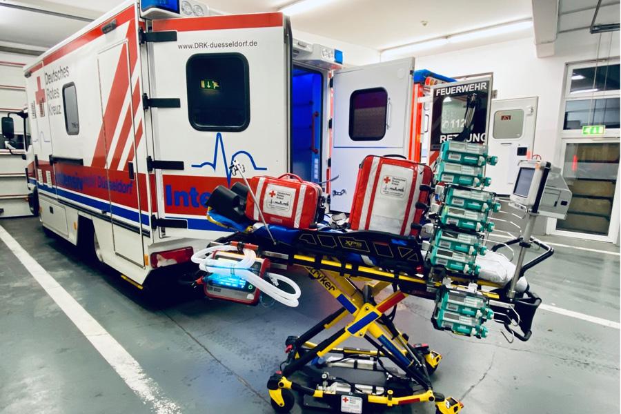 Corona-Patienten aus Italien landen in NRW