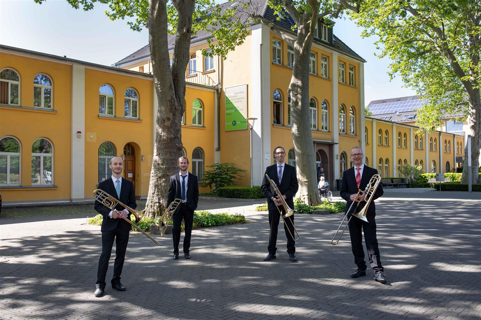 Düsseldorfer Symphoniker geben Sonnenscheinkonzerte für Senioren (Foto: Susanne Diesner)