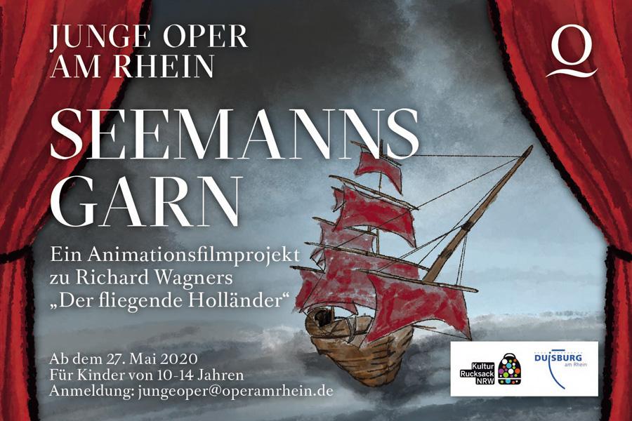 Neues Animationsfilmprojekt der Oper am Rhein