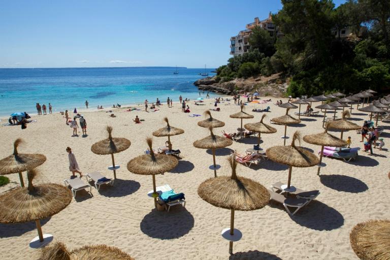Starke Einschränkungen für Party-Touristen auf Mallorca (© 2020 AFP)