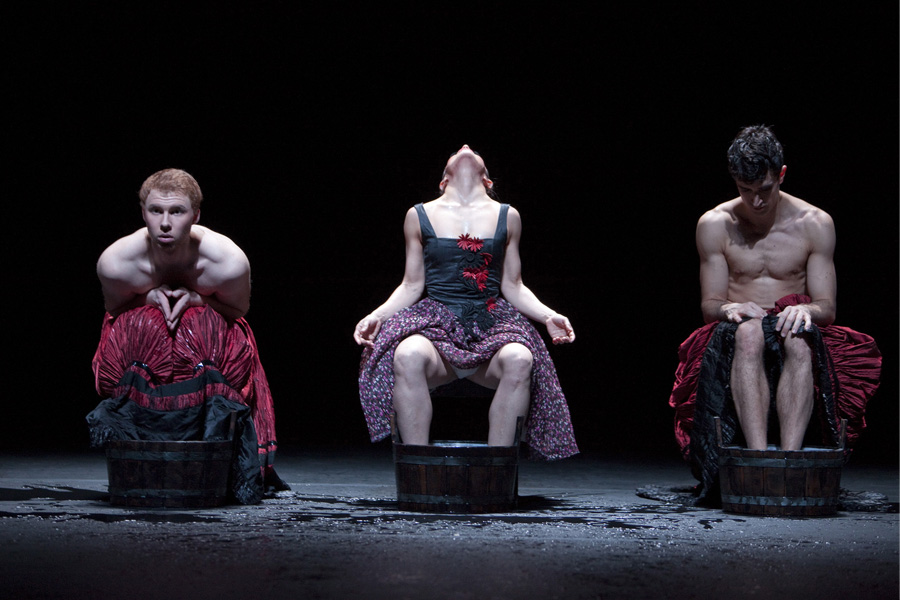 Martin Schläpfer: Sinfonien - Alexander McKinnon, Marlucia do Amaral, Alexandre Simoes (Foto: Gert Weigelt)