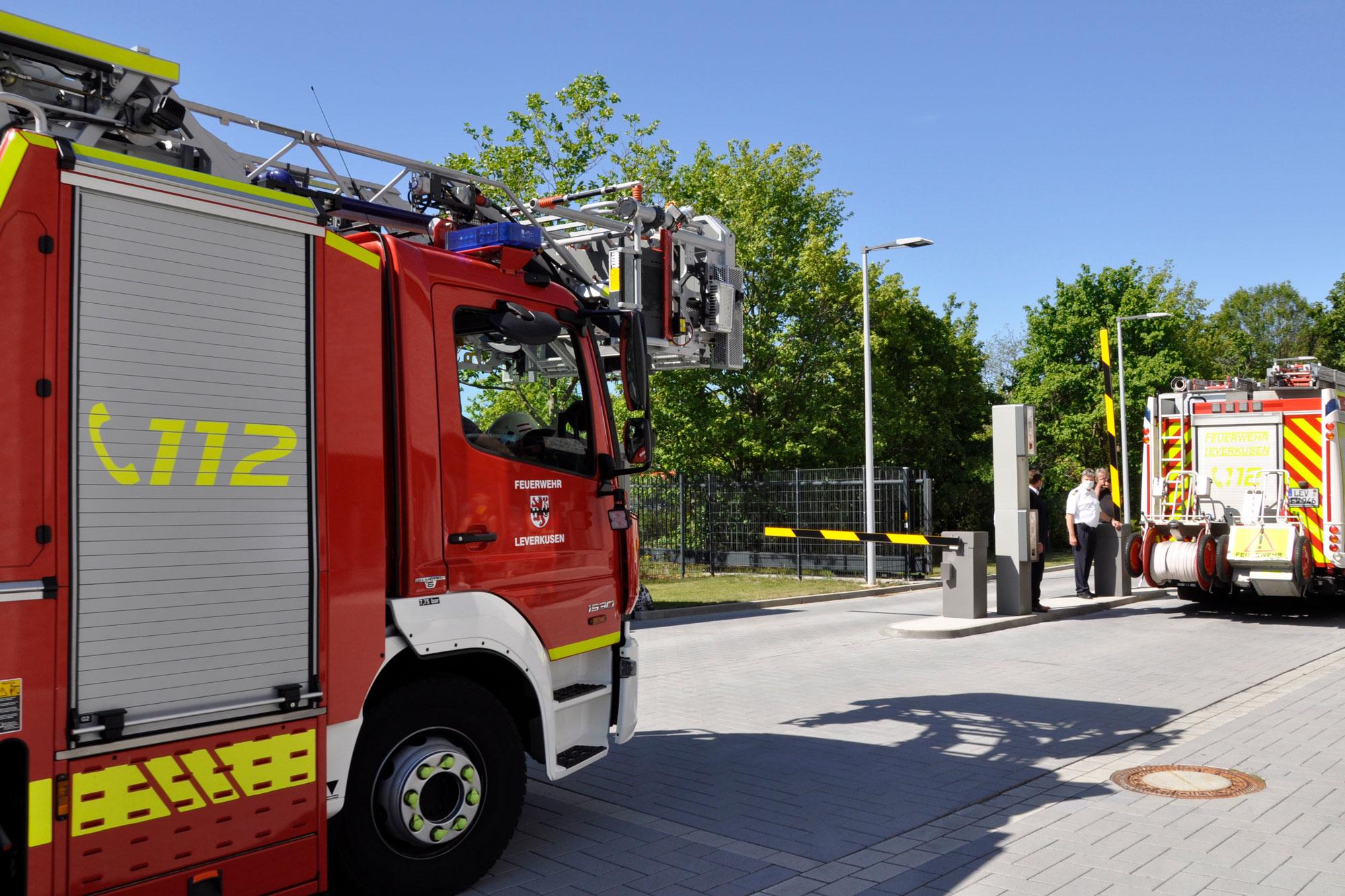Feuerwehr zieht in neue Wache ein