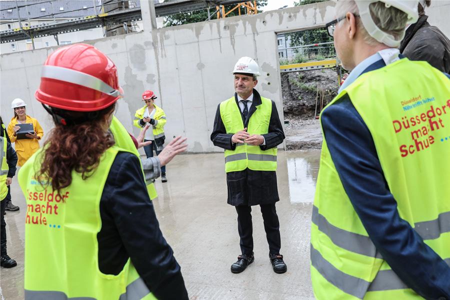 Bauarbeiten an Schulstandorten schreitet voran