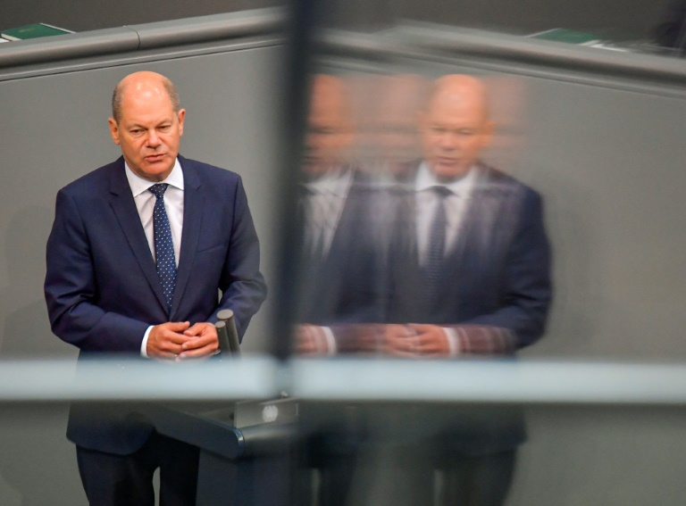 Scholz sieht deutsche Wirtschaft wieder im Aufwind