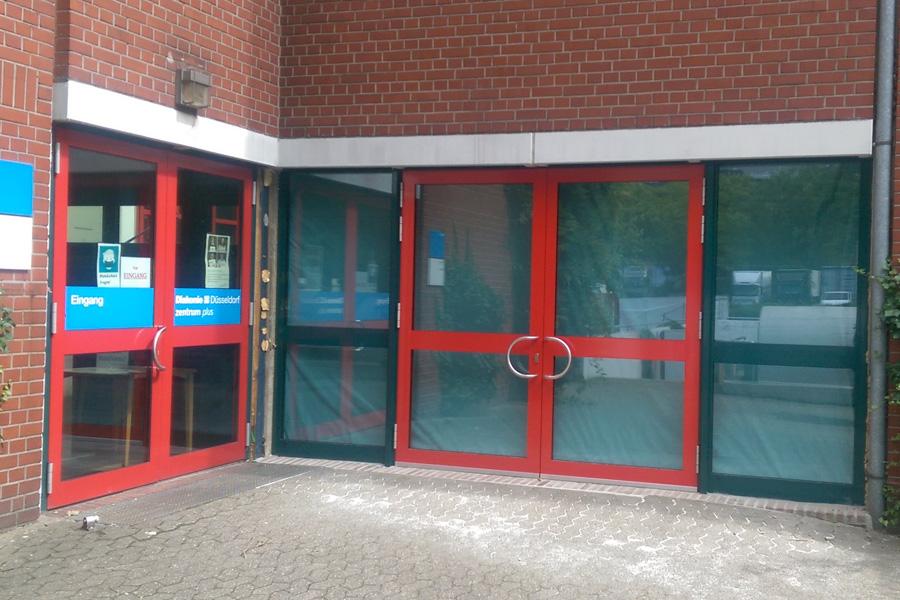 Eingang der Stadtteilbücherei Garath wird verlegt