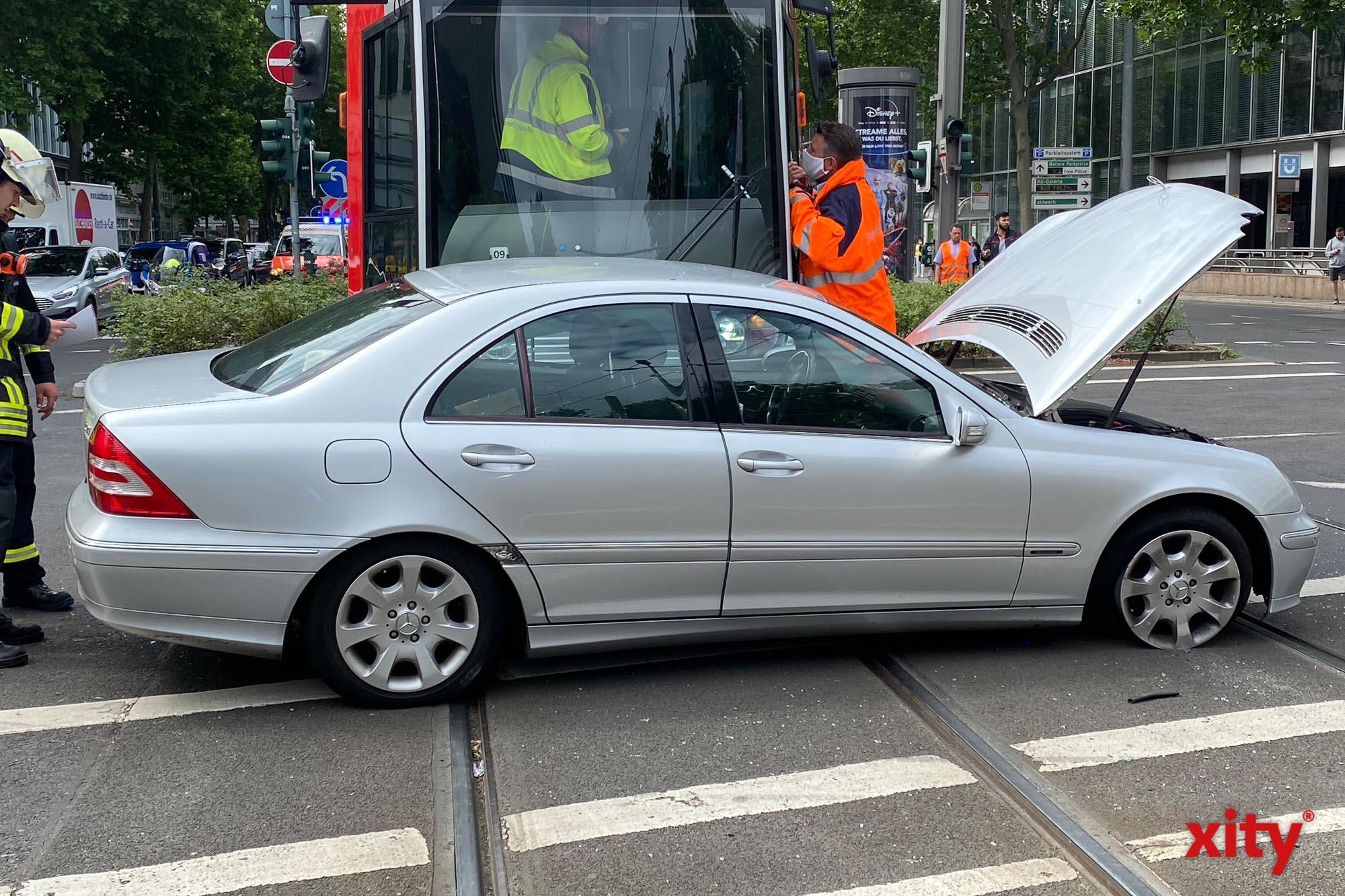 72-jähriger Pkw-Fahrer wurde sehr schwer verletzt (Foto: xity)