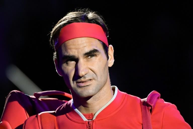 Roger Federer führt auf dem Tennisplatz bisweilen Selbstgespräche (© 2020 AFP)