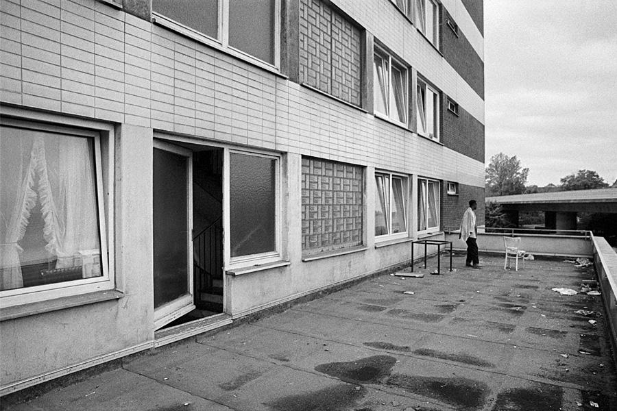 Richard Reisen: Übergangsheim Schiessstraße, Düsseldorf-Heerdt, 1989(Foto: Richard Reisen)
