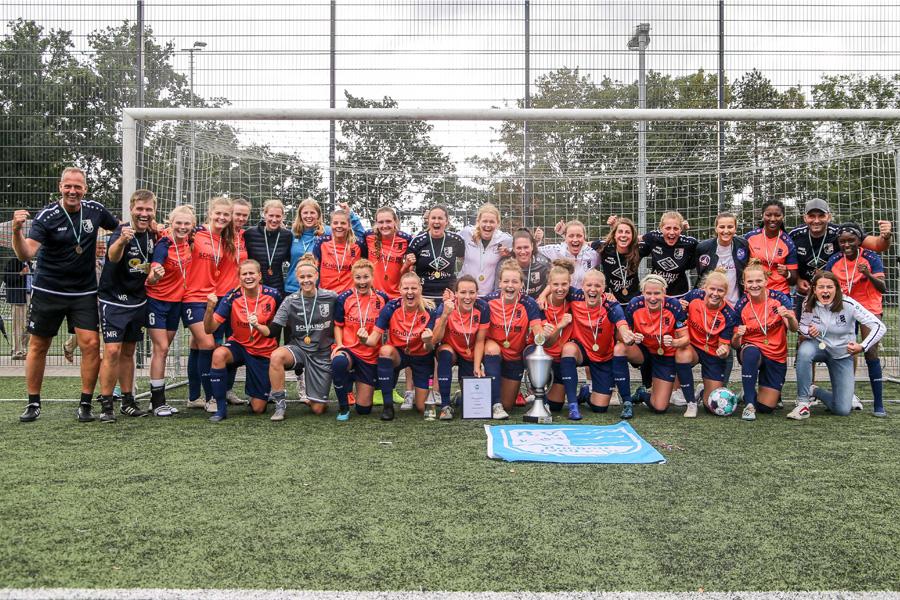 Borussia Bocholt ist Sieger des ARAG Niederrheinpokals der Frauen 2020 (Foto: Fußballverband Niederrhein e.V.)