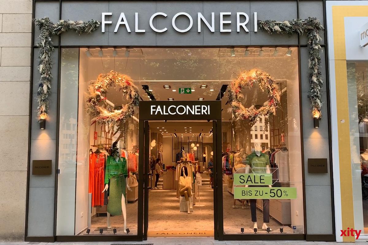 Der neue Flagshipstore der italienischen Modemarke Falconeri auf der Königsallee (Foto: xity)