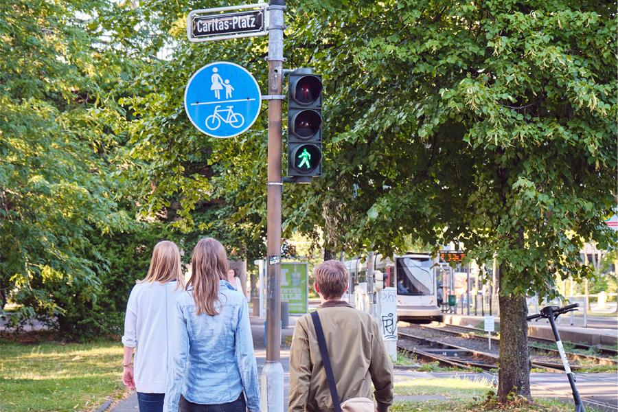 Der Fußverkehr in Unterrath, Lichtenbroich und Gerresheim wird jetzt unter die Lupe genommen (Foto: M. Boeckmann)